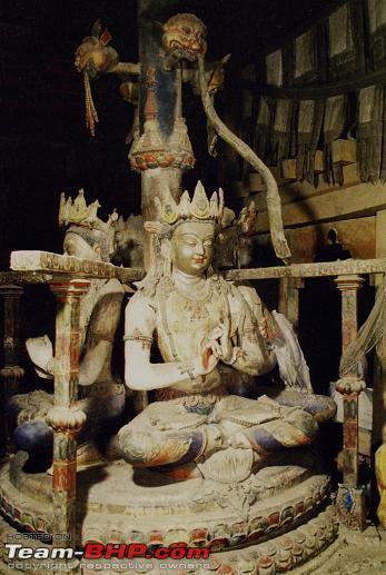 Name:  21. Maha-Vairochana, Main Temple, behind the altar. (J Poncar, 2001).jpg Views: 2121 Size:  50.3 KB