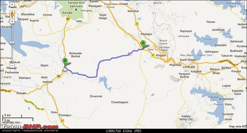Delhi - Goa - Delhi - New Year Vacation (Extended to Bangalore) - 5300 kms-pune-expressway-pen-connector-road.jpg