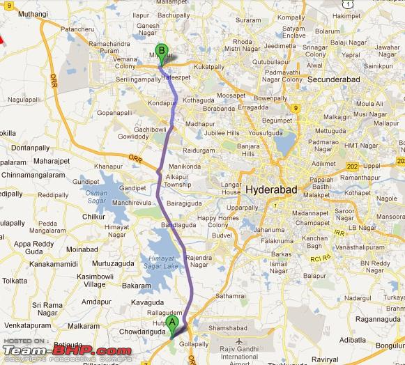 Name:  NH7 to ORR  Gachibowli exit_to miyapur.jpg