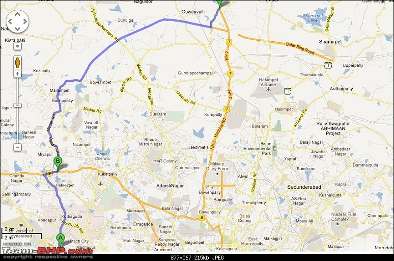 Delhi - Goa - Delhi - New Year Vacation (Extended to Bangalore) - 5300 kms-gachibowli-miyapur-rd-unknown-road-google-maps115957.jpg