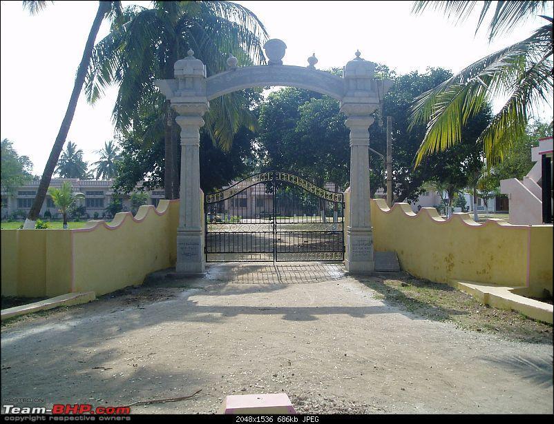 Road trip thru part of Coastal Andhra-entrance-famous-kuchipudi-dance-academy.jpg