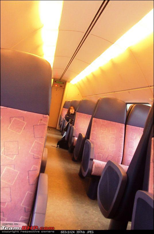 Travelogue � Country of low lands & the City of lights-train-inside.jpg