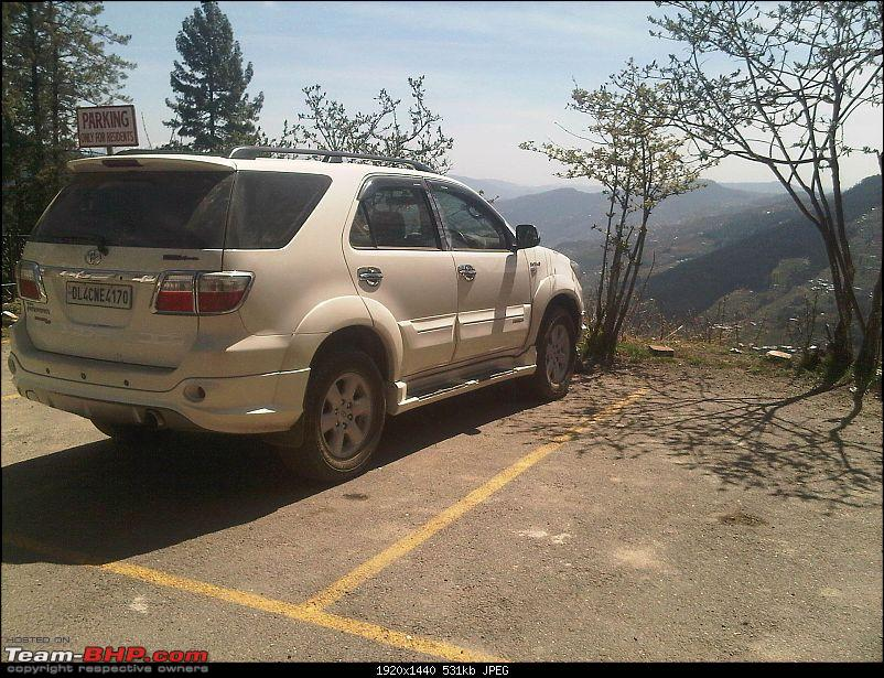 Reflecting on Driving Addictions - Bangalore to Spiti and Changthang-11-hatu-parking-fortuner-2.jpg