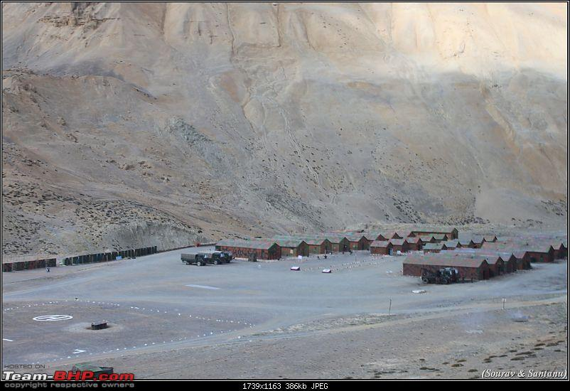 A journey through Leh & Ladakh � Barren beauty at its best-22-pang-army-camp.jpg