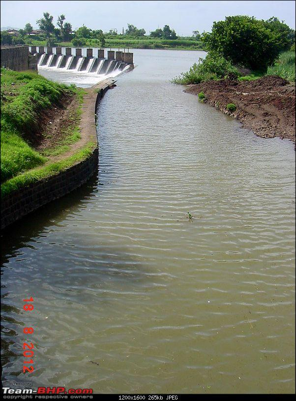 Short trip to Khodshi: View of the old dam from the new wall-fromcanalside.jpg