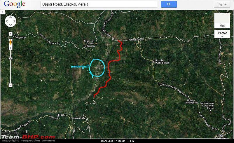 Civved : Kodaikanal, Munnar-waterfalllocation.jpg