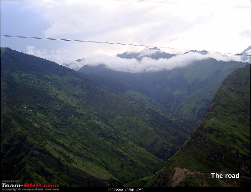 Fauji's Drivologues - Valley of Flowers, Uttarakhand - &quot;Paradise on Earth&quot;-rtb51.jpg <br /> <b>Joshimath town overlooking Himalayas</b><br /> <br /> <a href=