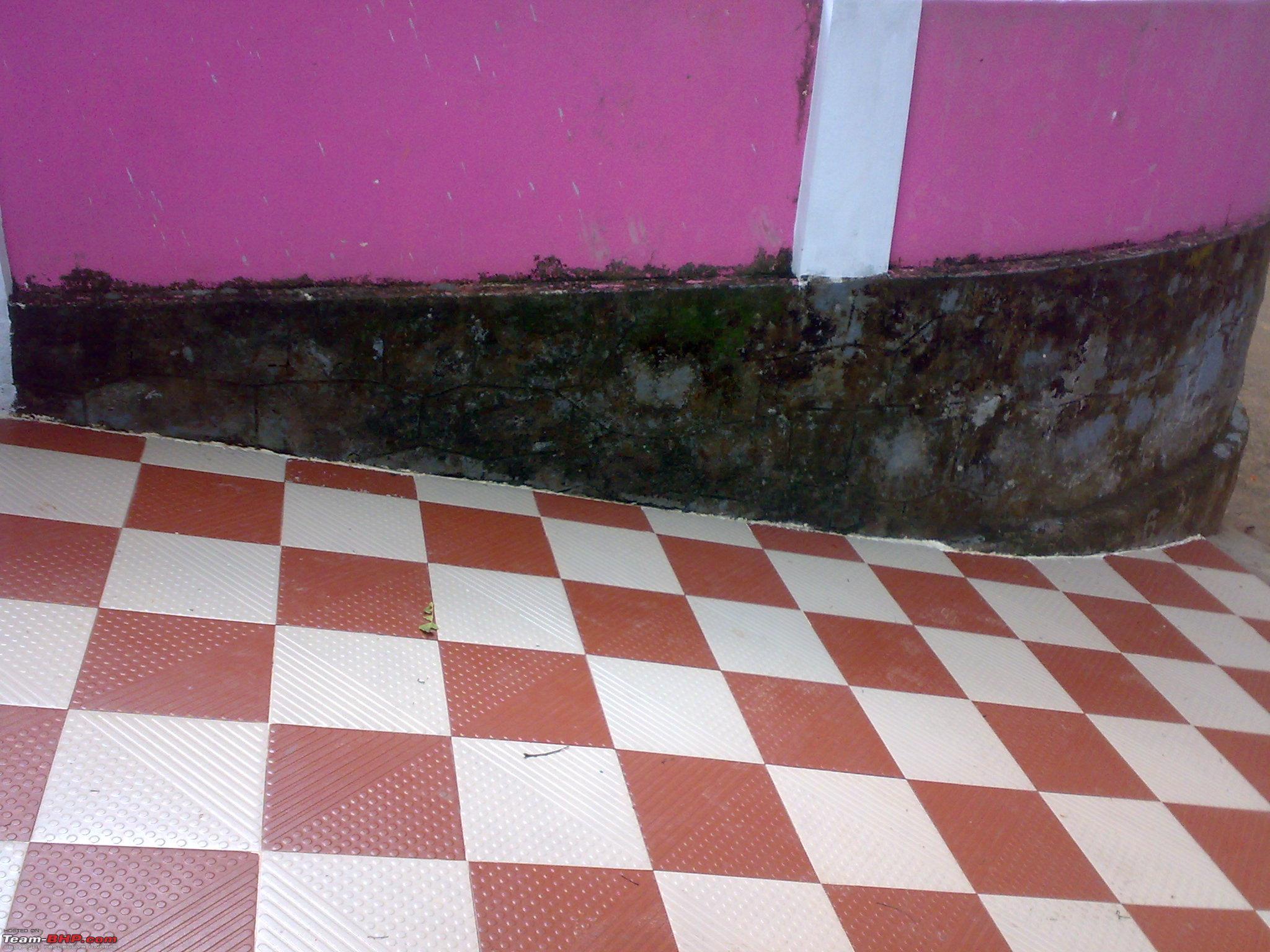 No Tyre Grip On Floor Tiles Team Bhp