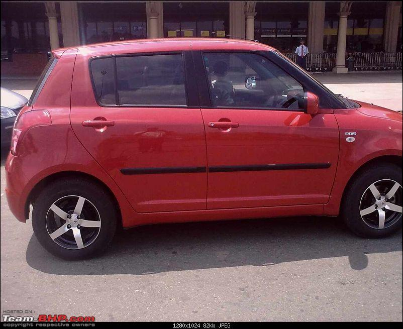 Maruti Suzuki Swift : Tyre & wheel upgrade thread-11032009038.jpg