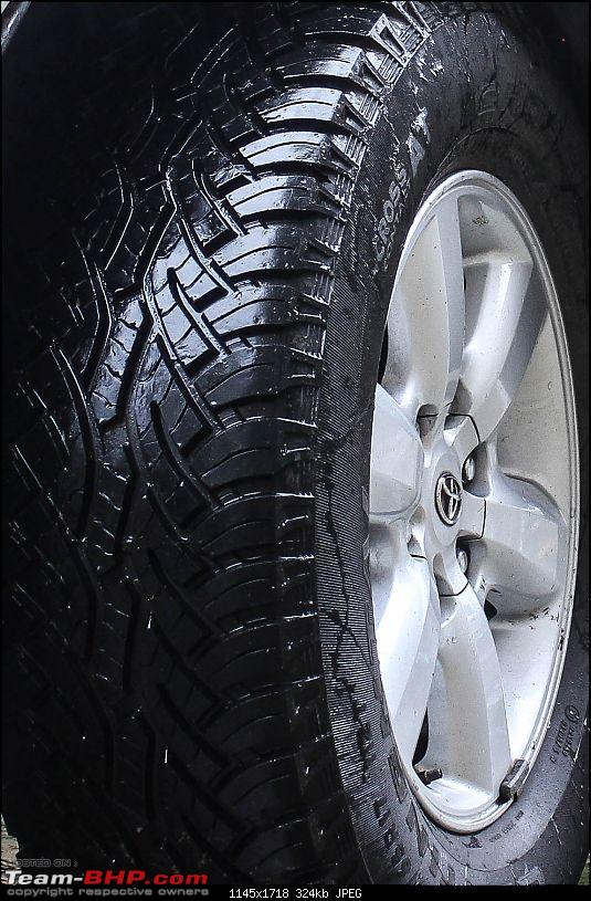 My Fortuner Tyre Upgrade: Continental Cross Contact A/T-3.jpg