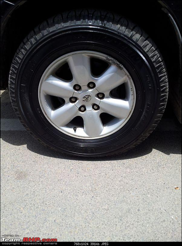 My Fortuner Tyre Upgrade: Continental Cross Contact A/T-after-cleaning-n-polish.jpg