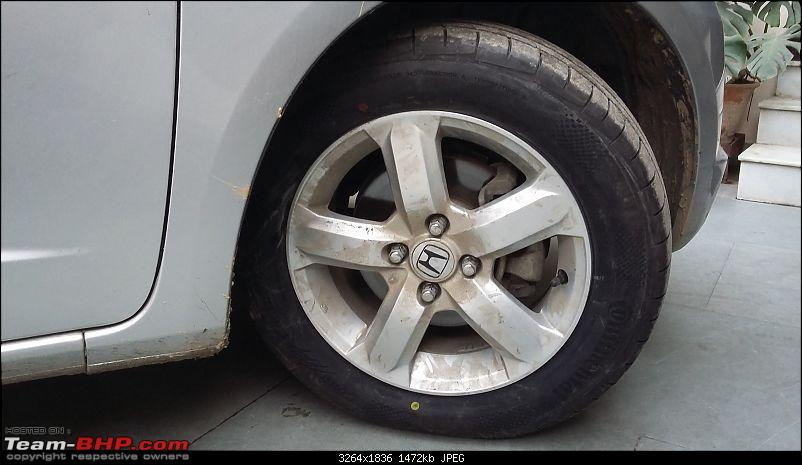 Honda Jazz : Tyre & wheel upgrade thread-20141225_161313.jpg