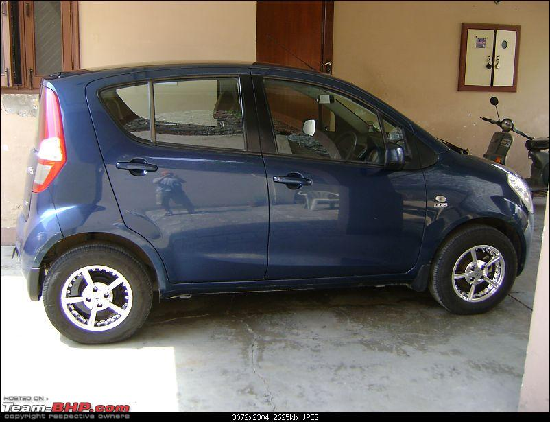 Maruti Ritz: My wheel & tyre upgrades - settled down after 4th set of rims-3.jpg