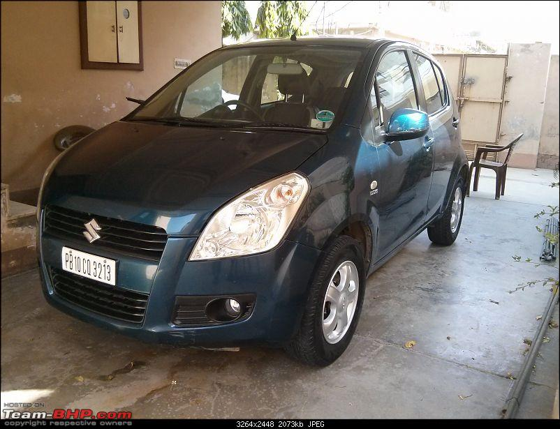 Maruti Ritz: My wheel & tyre upgrades - settled down after 4th set of rims-14.jpg