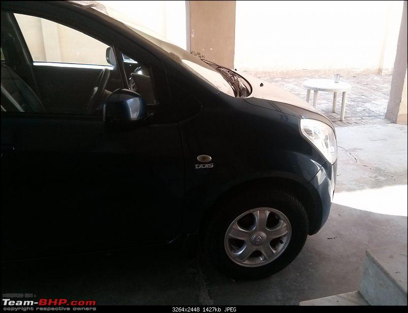 Maruti Ritz: My wheel & tyre upgrades - settled down after 4th set of rims-19.jpg