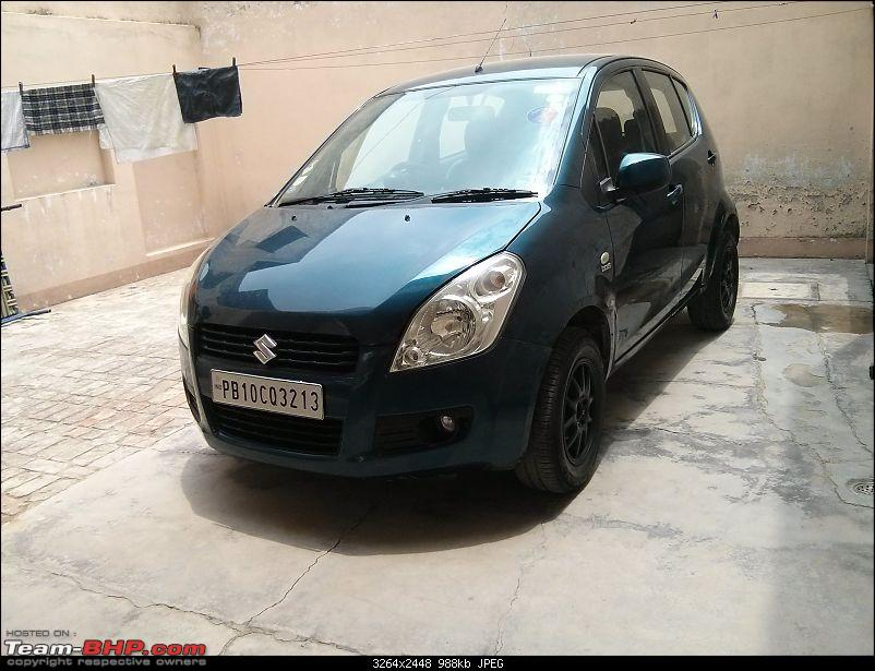 Maruti Ritz: My wheel & tyre upgrades - settled down after 4th set of rims-29.jpg