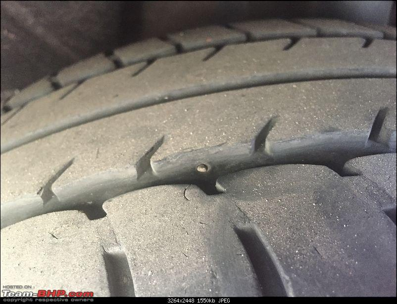 Nail in the tyre, yet no loss of air pressure. What to do?-image.jpeg