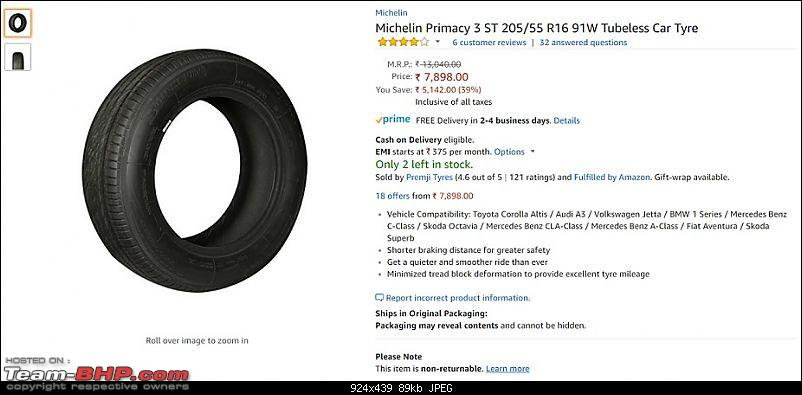 Review: Buying Tyres on Amazon.in-michelin_amazon_listing.jpg