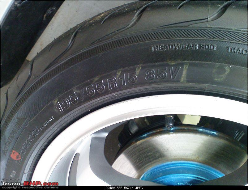 Maruti Suzuki Ritz : Tyre & wheel upgrade thread-dsc00133.jpg