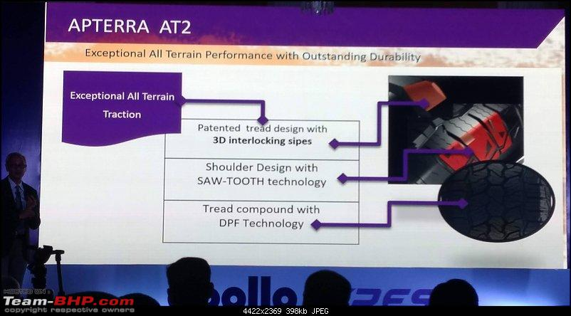 Apollo Tyres launches the Apterra AT2 SUV tyre-apterra-at2-launch-5.jpg