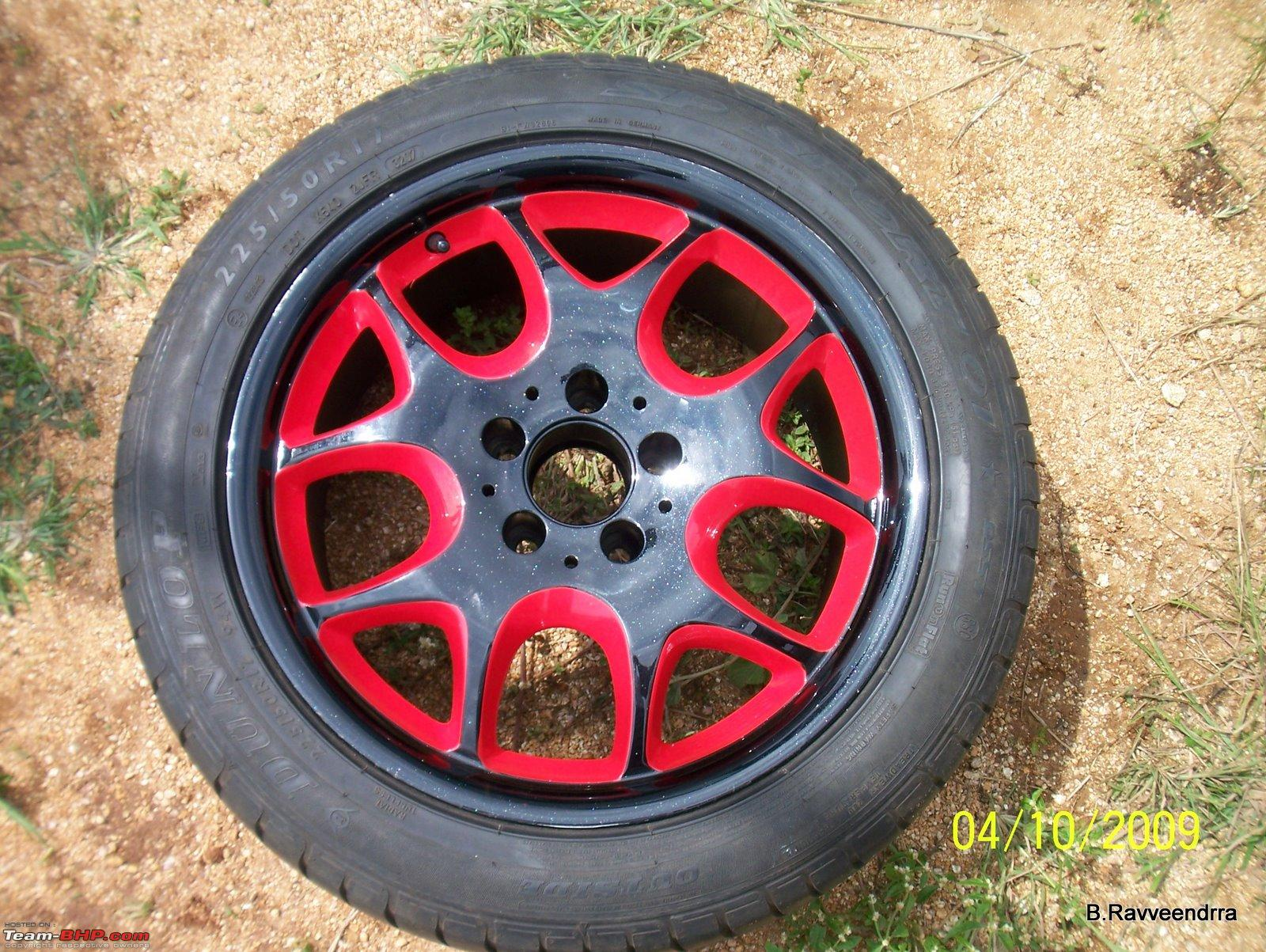 how to take paint off alloy wheels