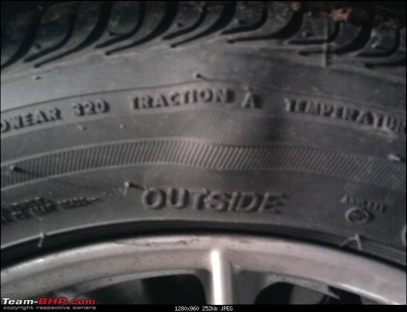 Bulge in sidewall of one Runflat tyre. Please Help !!-photo0809.jpg