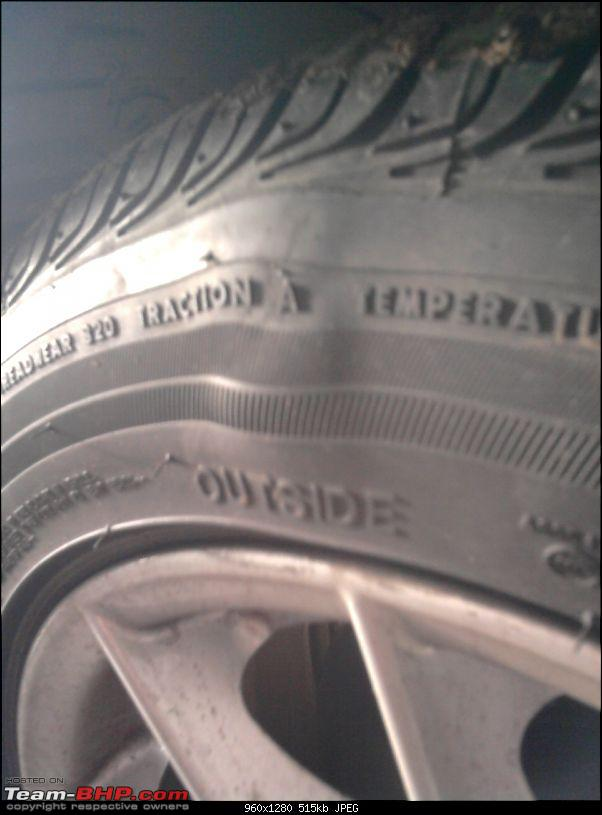 Bulge in sidewall of one Runflat tyre. Please Help !!-photo0810.jpg