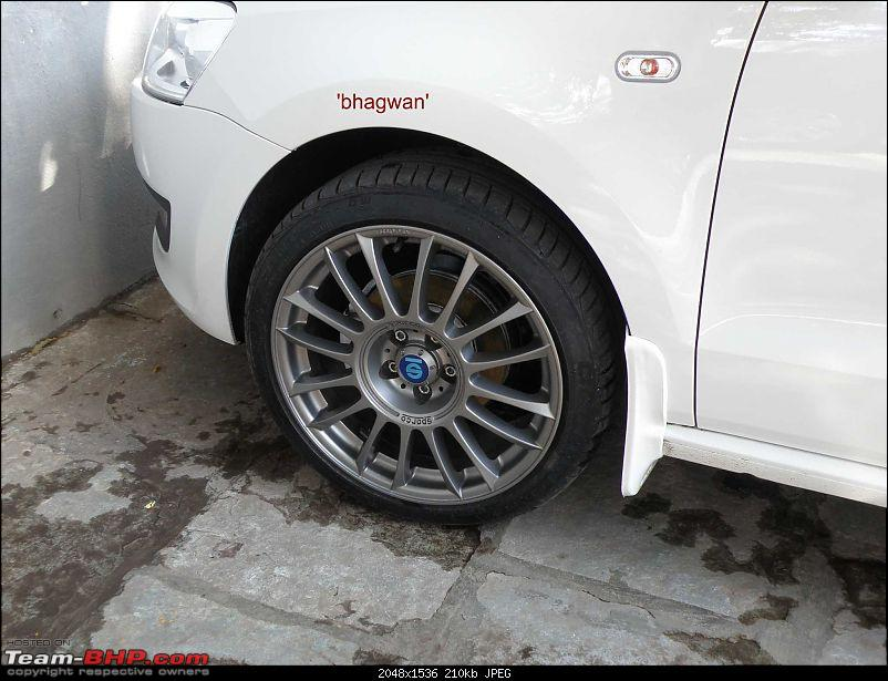 "VW Polo 1.6 Petrol - 17"" Alloys - 5 hole 100 PCD - Sparco Pista X 8J-vw-polo-mbj-ice-r-t-finished-29.03.2011.jpg-3.jpg"