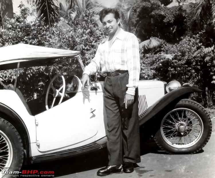 Name:  Madanji and his MG.jpg