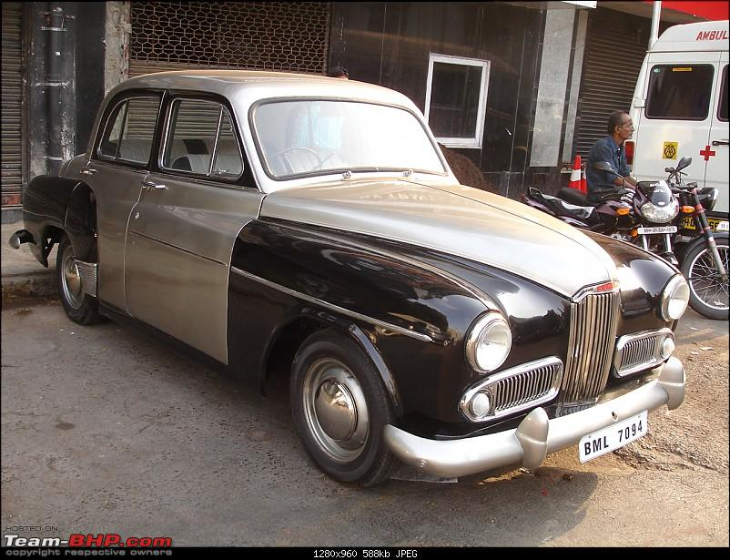 Daily Mumbai traffic in a classic? - Yes! Ambassador bought and restored.-humber01.jpg