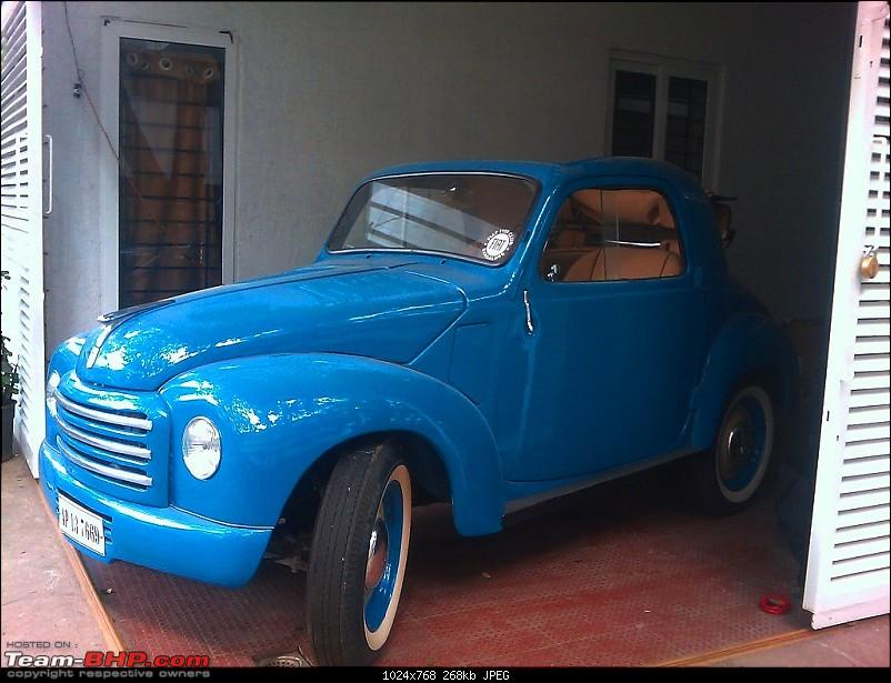 Pilots & his 1950 Mouse Restoration - Fiat Topolino Delivered-imag_1299.jpg