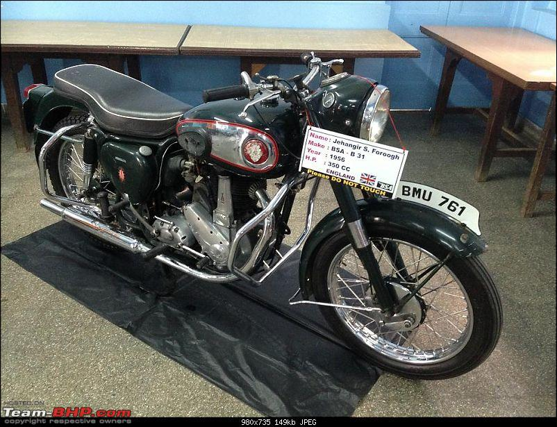 Vintage cars and bikes carnival - The Alexandra Girl's English Institution-bsa06.jpg