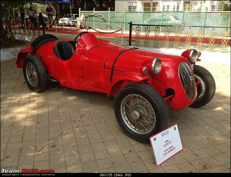 Vintage Cars and Bikes display at Turf Club Mumbai - April 18th - 21st-lancia01.jpg