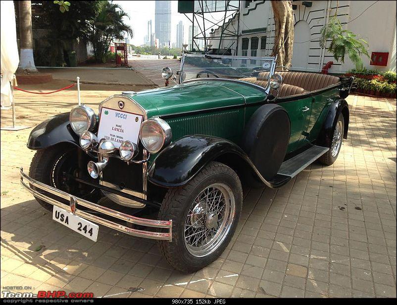 Vintage Cars and Bikes display at Turf Club Mumbai - April 18th - 21st-lancia02.jpg
