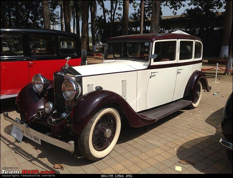 Vintage Cars and Bikes display at Turf Club Mumbai - April 18th - 21st-rolls02.jpg