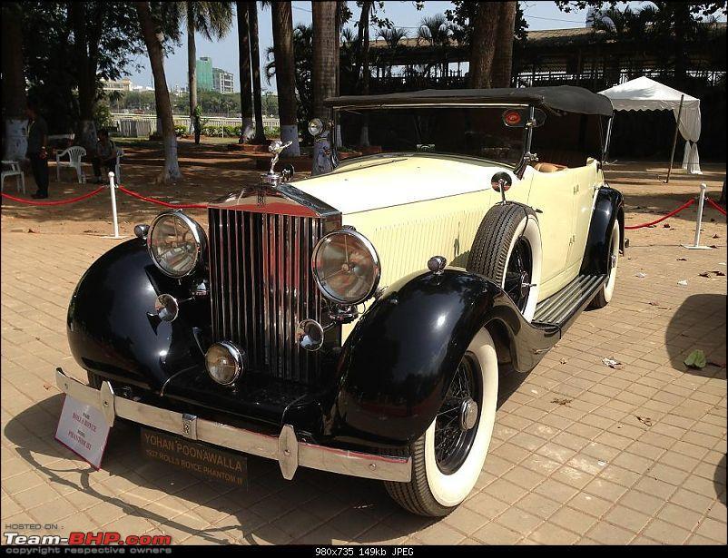 Vintage Cars and Bikes display at Turf Club Mumbai - April 18th - 21st-rolls04.jpg