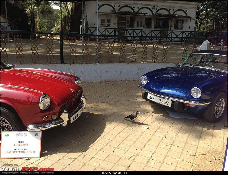 Vintage Cars and Bikes display at Turf Club Mumbai - April 18th - 21st-triumph03.jpg