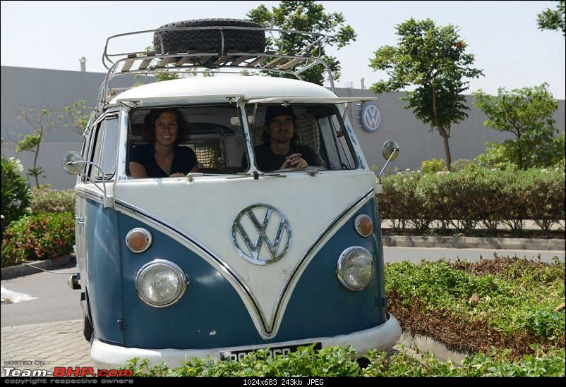 '66 VW Microbus on a World Road Trip. Pit-stop at VW's Chakan Factory-2.jpg