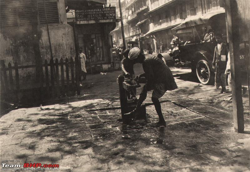 Name:  Man Washing his Foot   Bombay Mumbai India 1920s.JPG