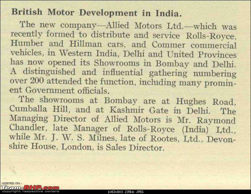 Classic Rolls Royces in India-delhi-allied-motors-announcement-1931-cropped.jpg