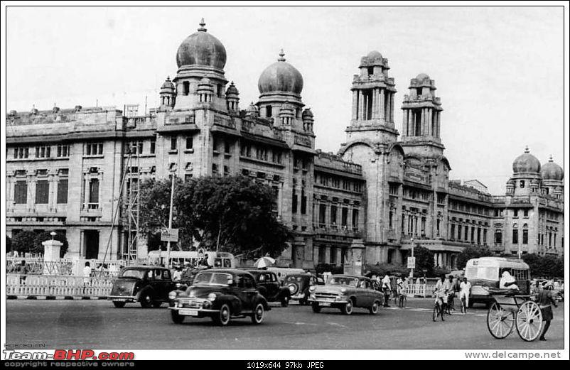 Images of Traffic Scenes From Yesteryears-madrasrailwayoffice.jpg