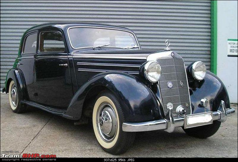 Vintage & Classic Mercedes Benz Cars in India-1951mercedesbenz170ssedanbowenpally.jpg