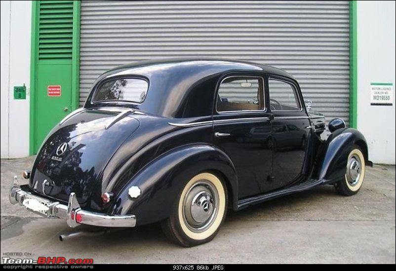 Vintage & Classic Mercedes Benz Cars in India-2picturesof1951mercedesbenz170ssedan.jpg