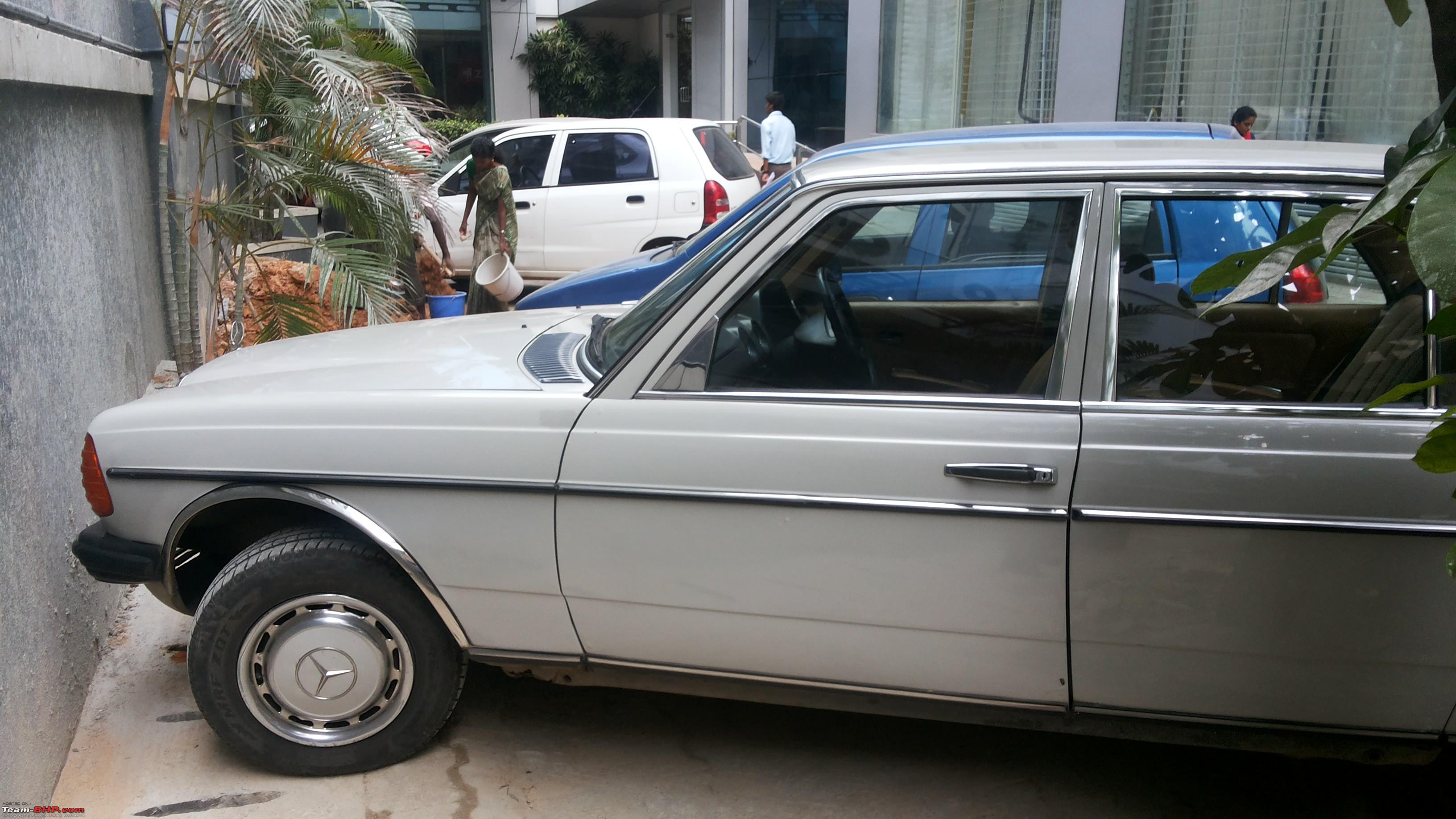 mercedes benz w123 for sale in india