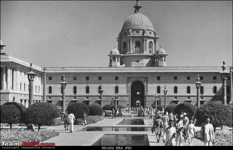 Images of Traffic Scenes From Yesteryears-rashtrapatibhawan.jpg