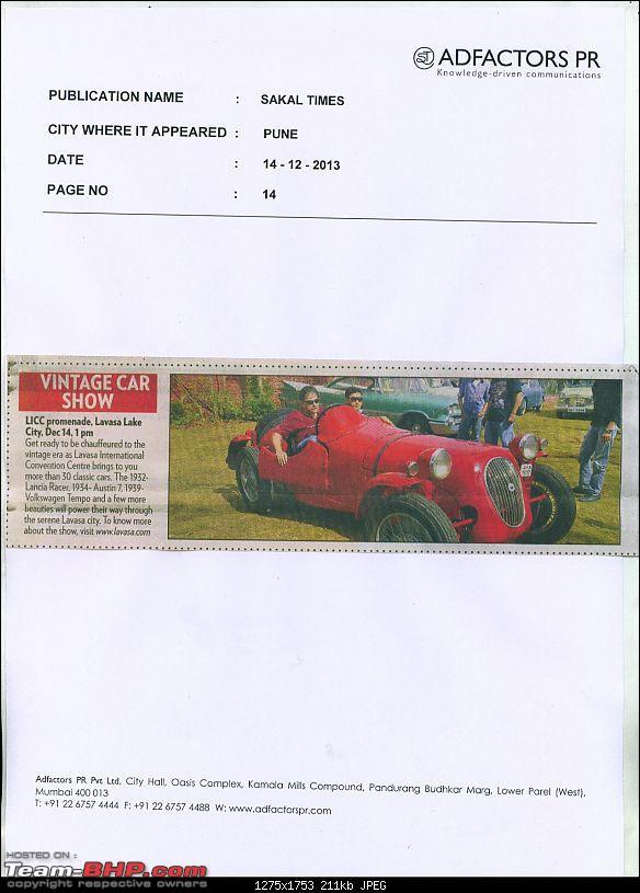 Vintage car drive from Mumbai to Lavasa - Pics and report-lavasa-sakal-times.jpg