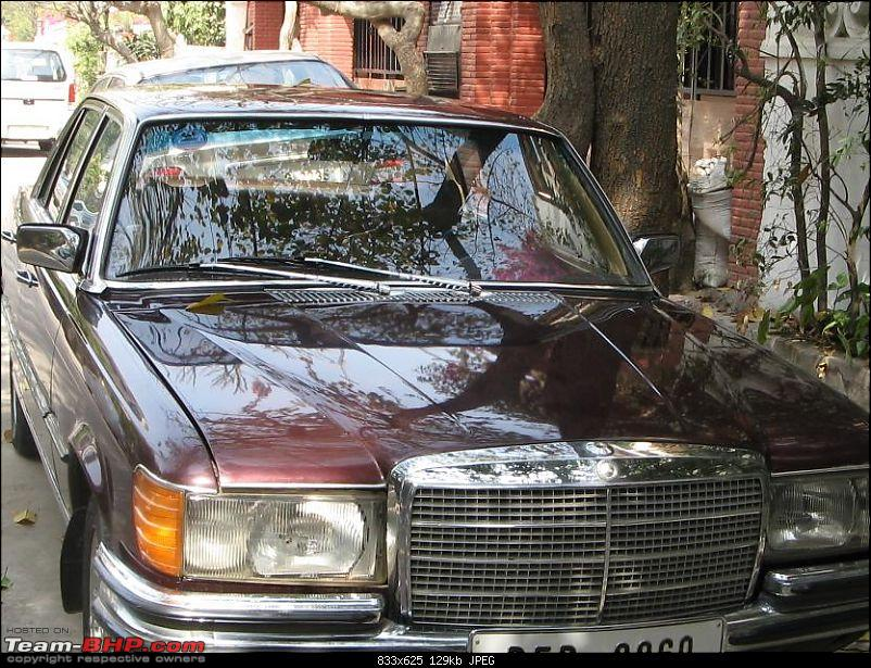 Vintage & Classic Mercedes Benz Cars in India-w116.jpg