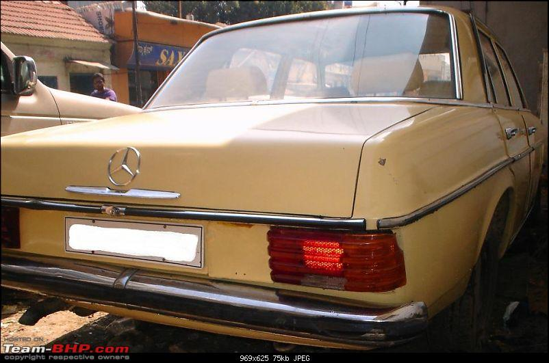 Vintage & Classic Mercedes Benz Cars in India-w115-1974-02.jpg