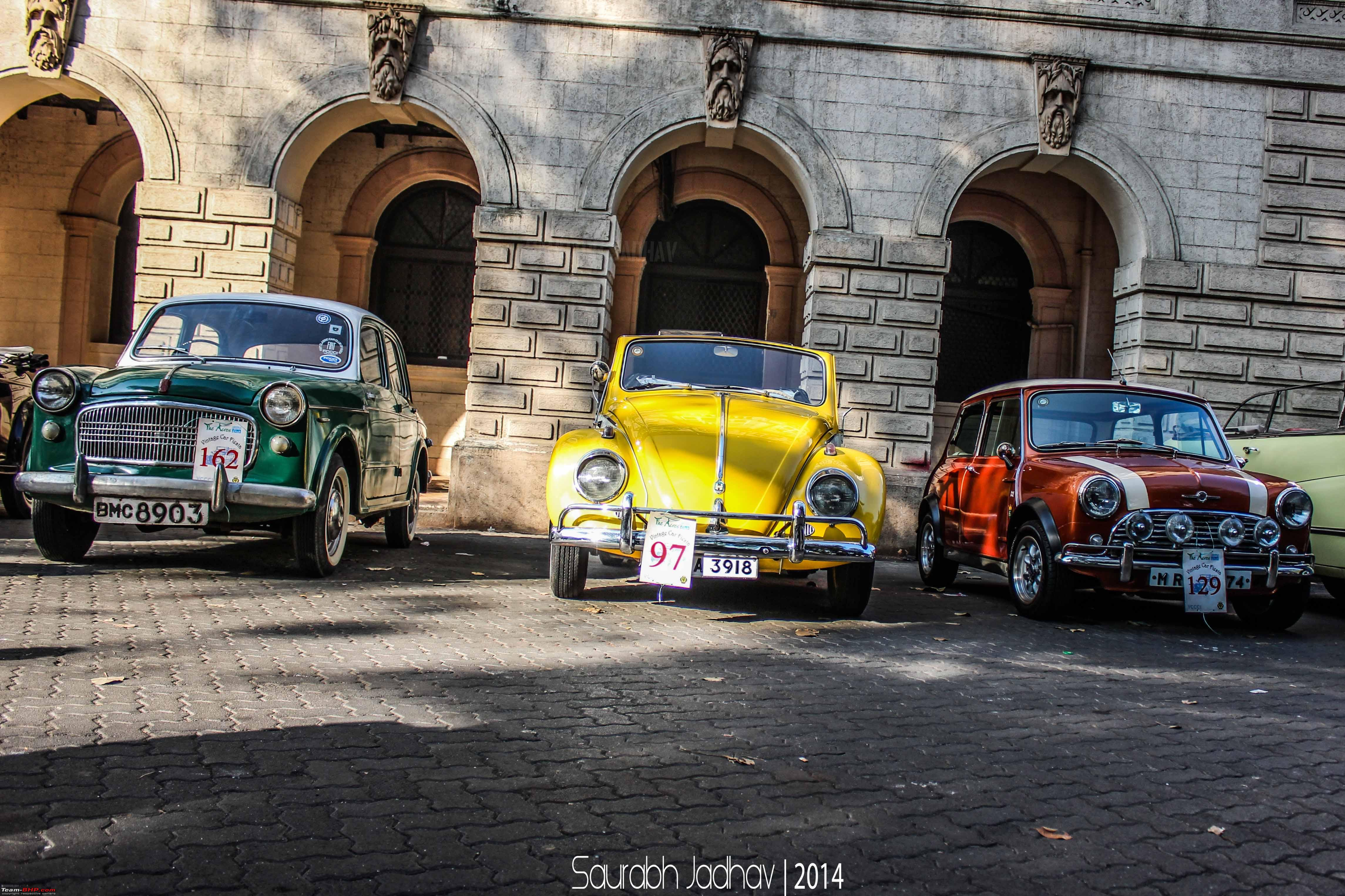 Report Vccci Classic Car Bike Rally Bombay March Page