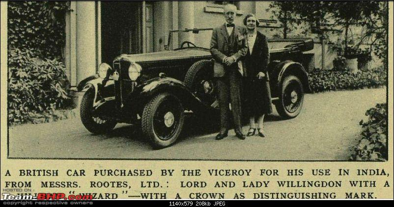 Nostalgic automotive pictures including our family's cars-viceroy-willingdon-hillman-wizard-iln-may-2-1931-large.jpg